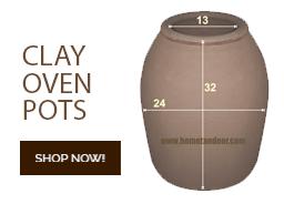 Home Tandoor | Tandoori Oven For Sale | Small Tandoor